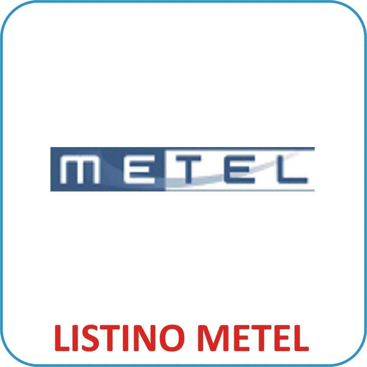 Listino formato METEL