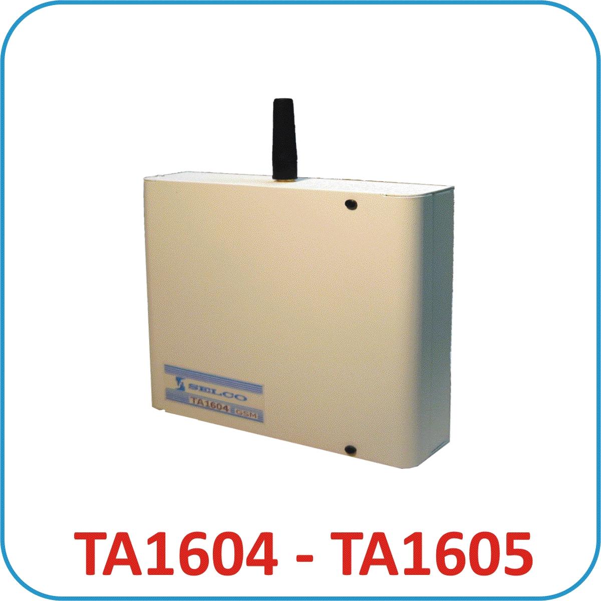 COMBINATORI TELEFONICI RETE GSM TA1604 - TA1605